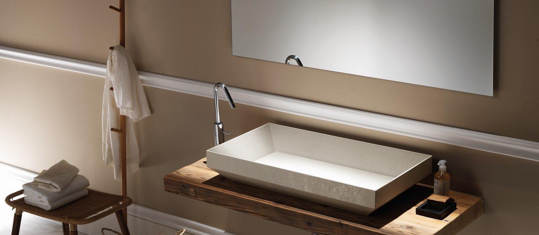Piani per lavabi e lavabi in appoggio - Nami Bath