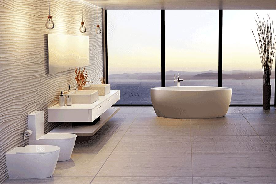 Pavimenti bagno, guida alla scelta corretta: ceramica