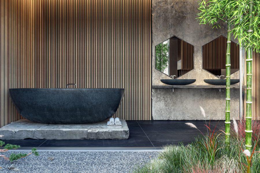 Scegliere le piante per il bagno: il Bambù